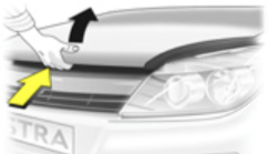 Astra H Bonnet Catch release